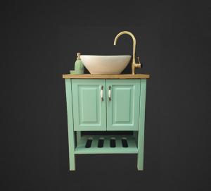 ארון אמבטיה דגם קוביה - לוי אמבט