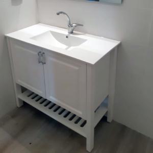 ארון אמבטיה דגם קוביה 100